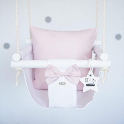 [:et]Valge tähepüüdja puuderroosa padjaga[:en]White and powder pink Starcatcher[:]